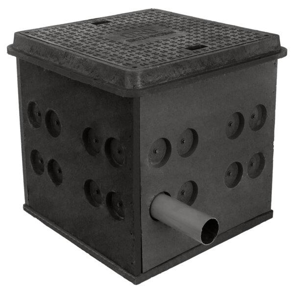 Електро и телекомуникационна шахта от полимер-композит RCHC 800/800/800