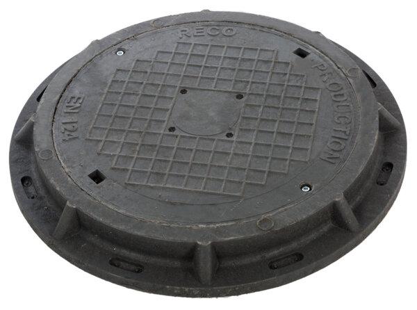 Ревизионен капак кръгъл с гривна RCFC250 DN600