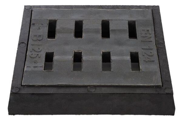 Водосборна решетка с рамка RDFB125 400/450