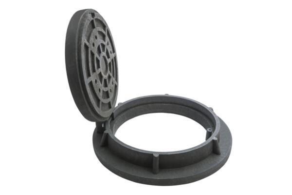 Ревизионен капак с гривна и панта RCFХD400 DN600