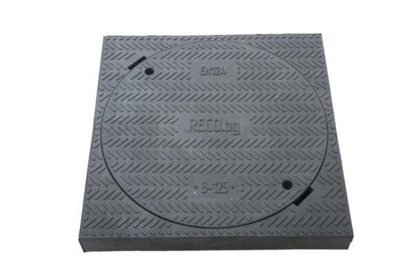Ревизионен капак с рамка RCFA15 DN400