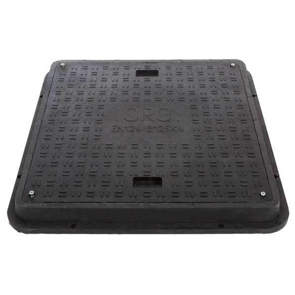 Ревизионен капак с рамка RCFB125 800/800/80