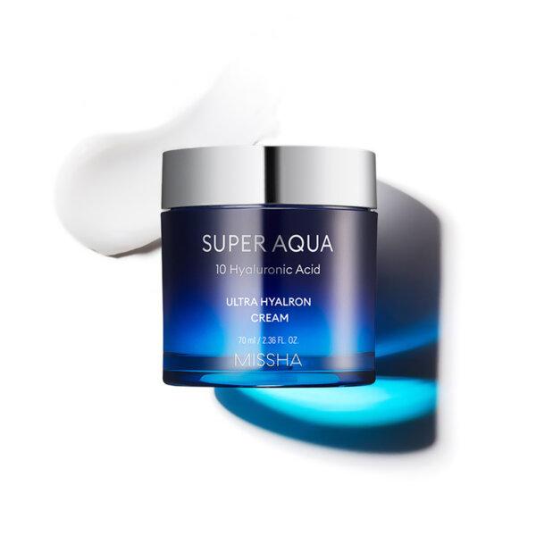 Missha Super Aqua Ultra Hyalron Cream, 120мл