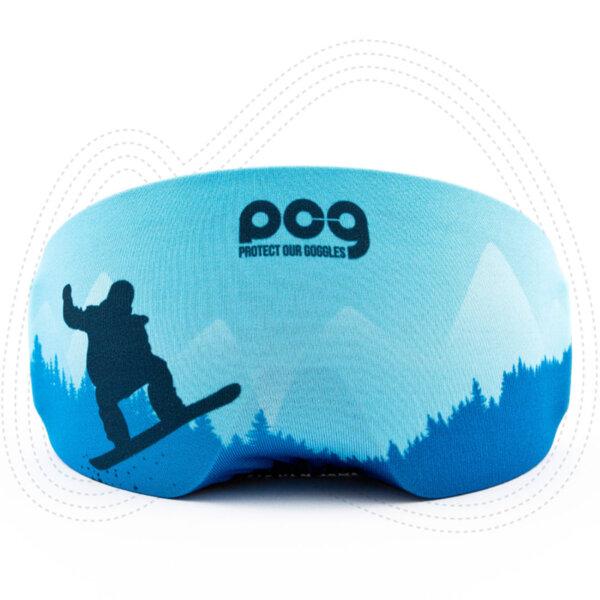 Протектор за сноуборд маска - POG03