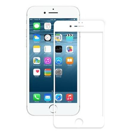 Стъклен протектор от 4phones за iPhone 7/8/SE 2020 Full Glue White