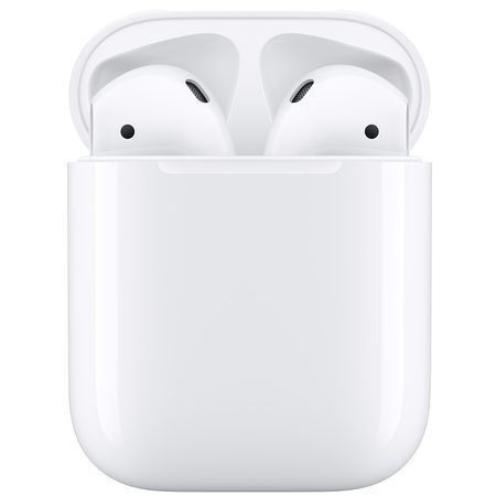 Безжични Слушалки Apple AirPods (2019) with Charging Case White