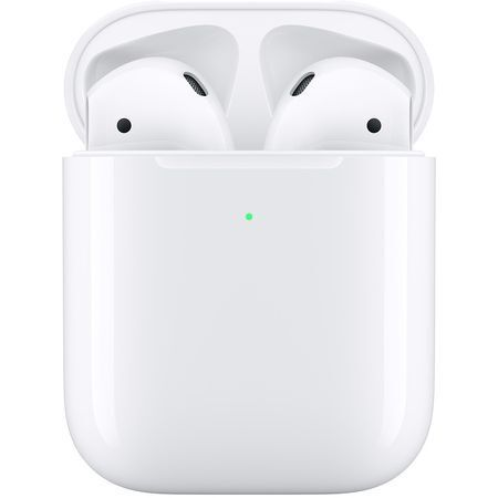 Безжични Слушалки Apple AirPods (2019) with wireless charging case White