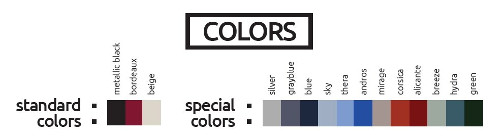 eco spar colors