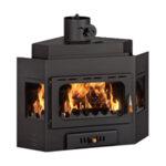 Focar Semineu Prity, Model A W20, Putere 25kw, Incorporabil, Dotat Cu Boiler
