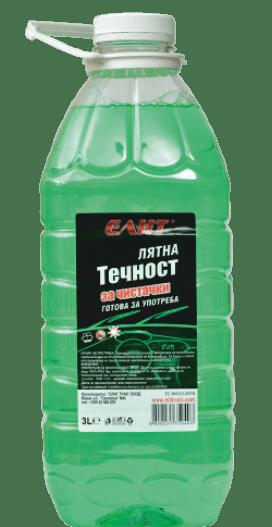 Tечност за чистачки ELIT лято готова 3L