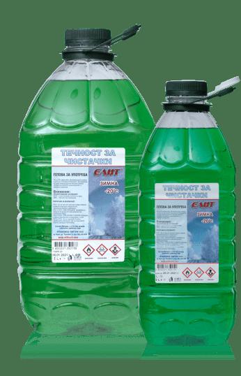 Tечност за чистачки ELIT готова за употреба -20C 3L