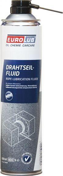 EUROLUB DRAHTSEIL-FLUID 0.600 L немски спрей за стоманени въжета