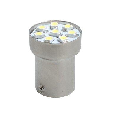 LED L088W BA15s 8xSMD3528 White M-TECH крушка