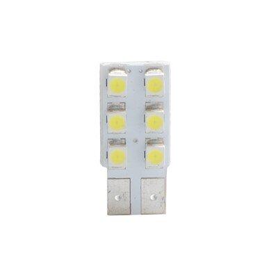 LED L083W  W5W 6xSMD3528 White M-TECH крушка