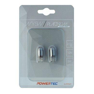 Powertec WY5W T10 12V5W WEGDE Chrome комплект