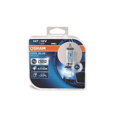 OSRAM COOL BLUE INTENSE® H7 12V 55W DUO комплект