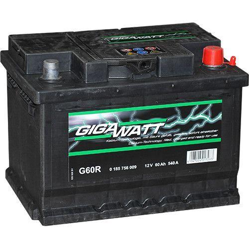 GIGAWATT 60AH (175mm) акумулатор