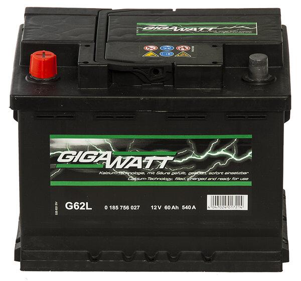 GIGAWATT 60AH L+ акумулатор