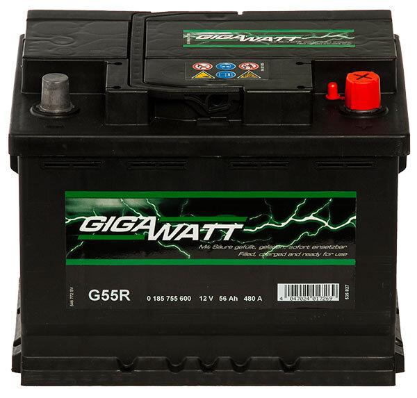 GIGAWATT 56AH акумулатор