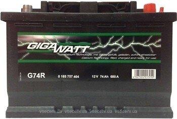 GIGAWATT 74AH акумулатор