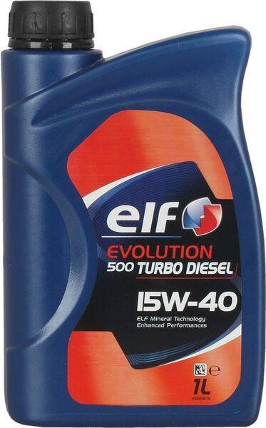 ELF EVOLUTION 500 Turbo Diesel 15W-40