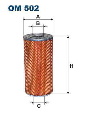 FILTRON OM502 маслен филтър /HENGST E226H/