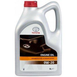 Оригинално двигателно масло TOYOTA ADVANCED FUEL ECONOMY EXTRA 0W-20 5L