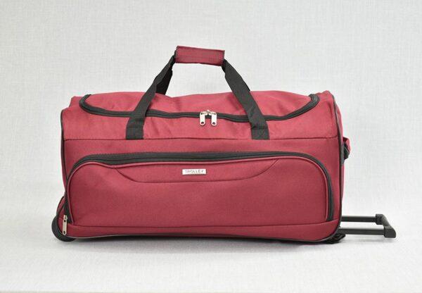 Пътна чанта (сак) с колела и теглич модел 12011. Различни цветове