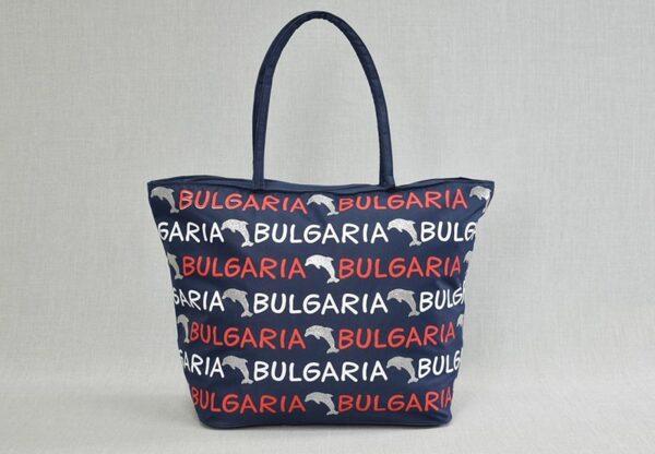 Плажна чанта модел 71-1. Разнообразие от десени