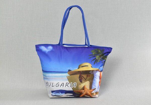 Плажна чанта модел 71-2. Разнообразие от десени