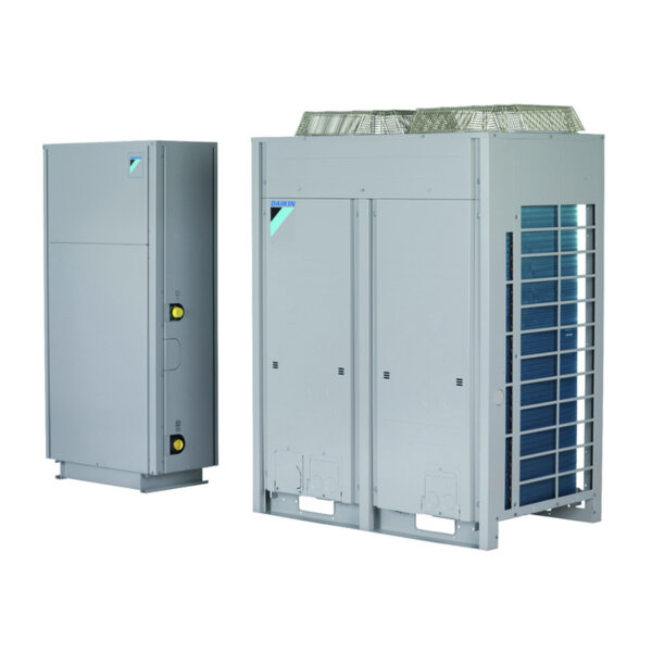 Термопомпен чилър сплит система Daikin SEHVX40BAW/2 x SERHQ020BAW1
