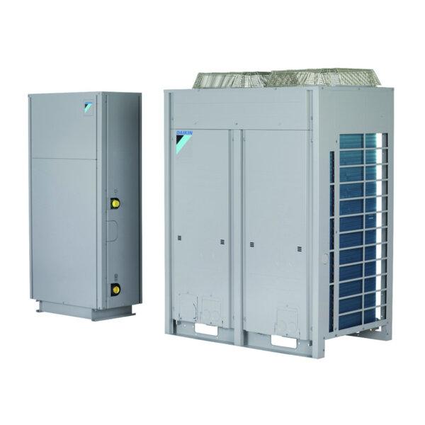 Термопомпен чилър сплит система Daikin SEHVX64BAW/2 x SERHQ032BAW1