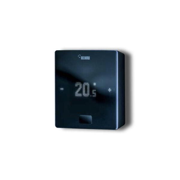 Стаен термостат Rehau Nea Smart 2.0, черен