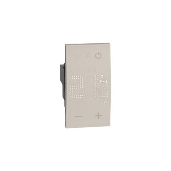 Стаен термостат Btichino KM4441 за вграждане в рамка-Copy