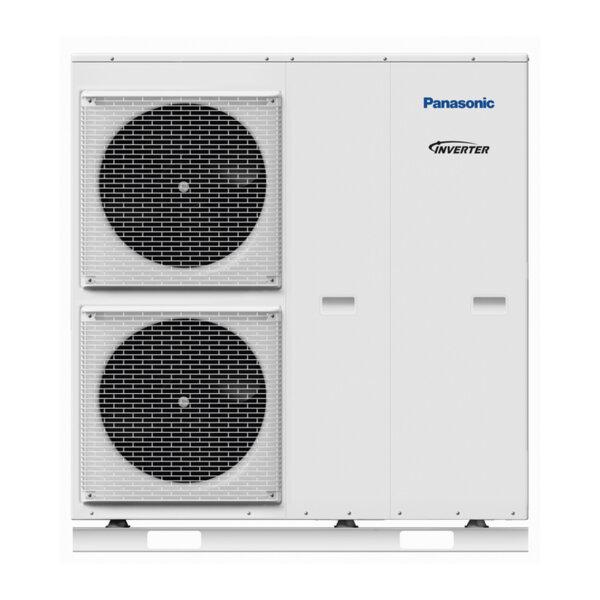 Термопомпа Panasonic Aquarea WH-MDC09H3E5, 9.0 kW, отопление, охлаждане и БГВ
