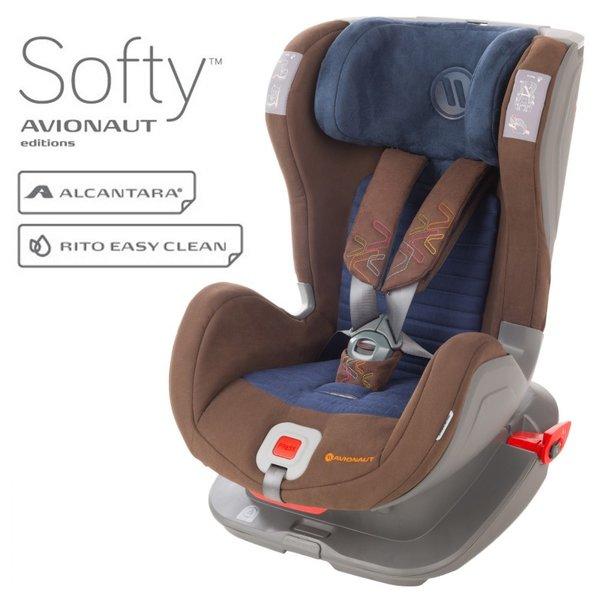 Столче за кола Avionaut Glider Softy с IsoFix F.01