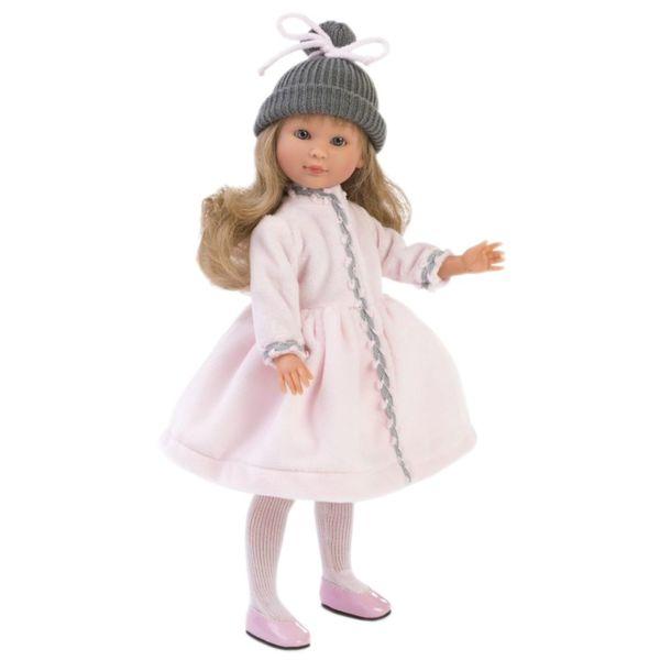 Кукла Силия, с розово палто, 30 см