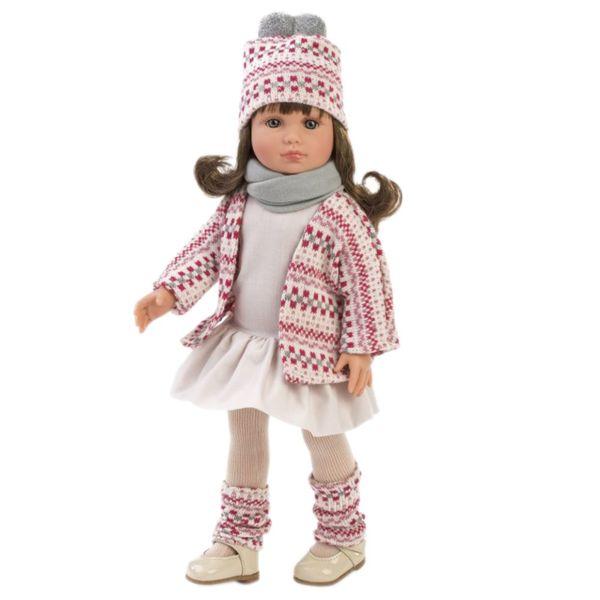 Кукла Нели, със зимен тоалет, 40 см