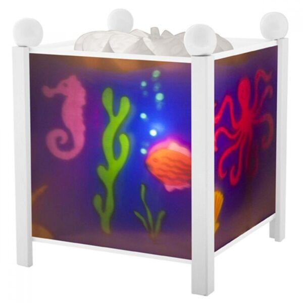 Магическа лампа Море - Бяла 12