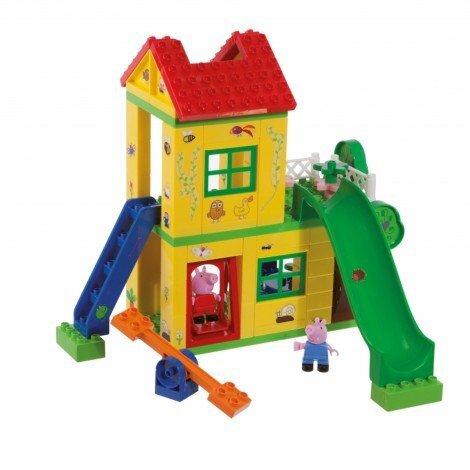 Конструктор PlayBIG Bloxx Peppa Pig Къща с площадка за игра