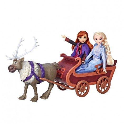 Кукли и фигурка FROZEN Sledding Sven & Sisters