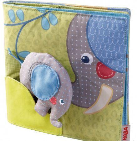 Мека бебешка книжка- Слонът и приятели