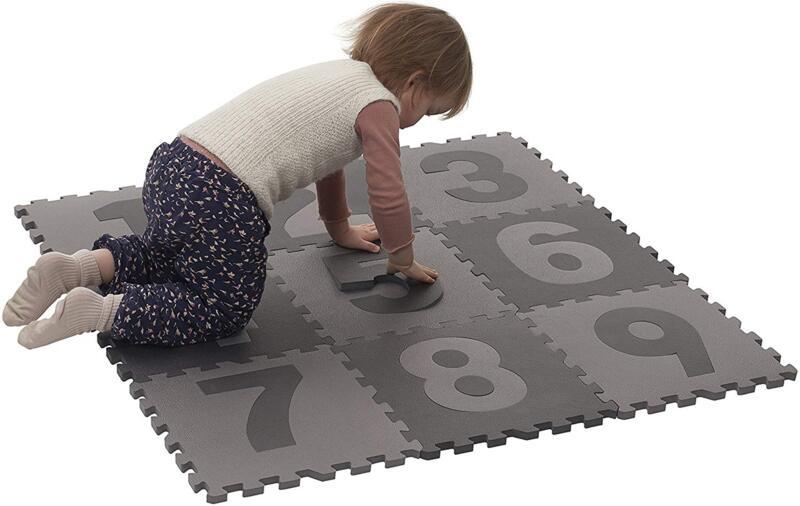 Мек килим пъзел за игра с цифри