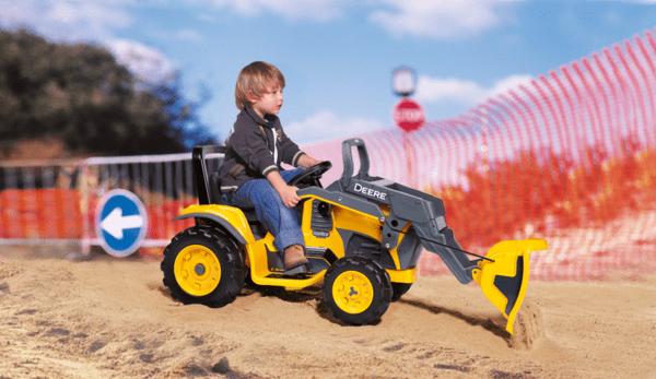 Акумулаторен багер John Deere Construction Loader -12V