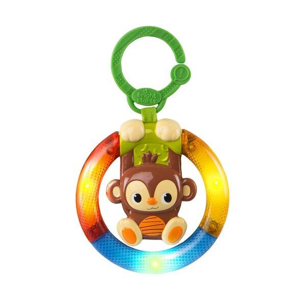 Bright Starts Светеща играчка Маймунка Light up Wheel