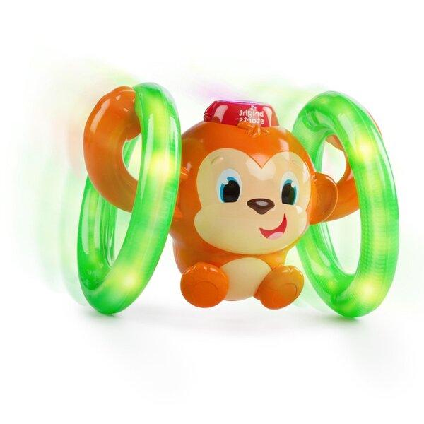 Bright Starts активна играчка маймунка Roll n Glow