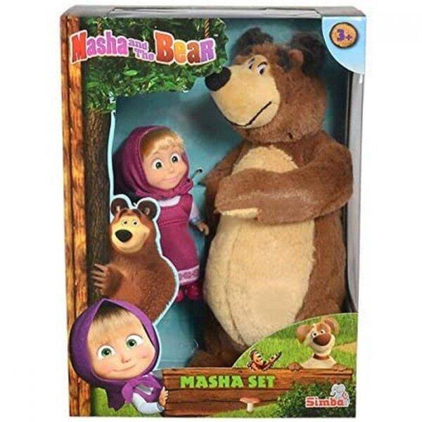 Маша и мечока-Плюшен мечо с Маша