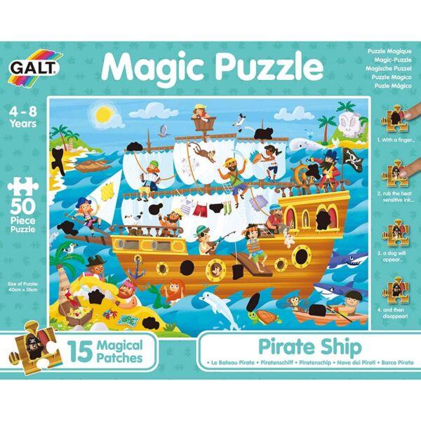 Магически пъзел, Пиратски кораб, 50 части