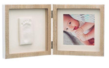Style Отпечатък със снимка - рамка в цвят дърво, бяло паспарту