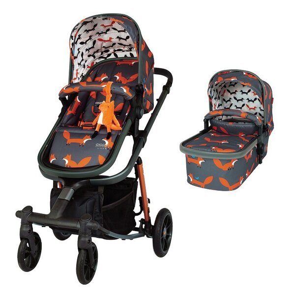 Количка Cosatto Giggle Quad – Charcoal Mister Fox